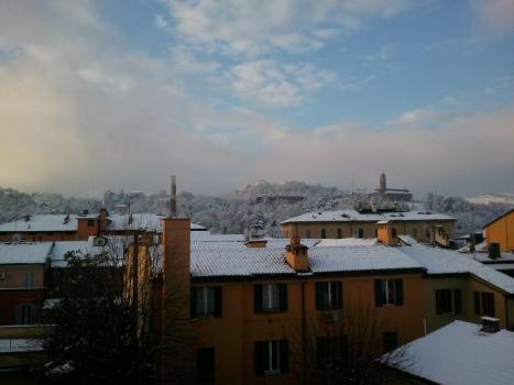 nevicata di febbraio