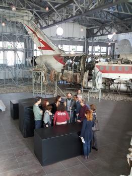 Percorso accessibile nel Museo per la memoria di Ustica