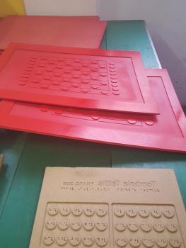 Tombola, oggetto prodotto dalla Federazione