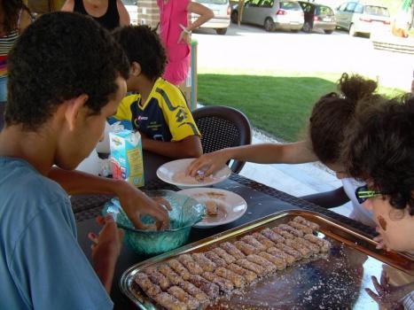 cuciniamo insieme al parco degli angeli estate 2012