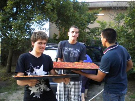 pizza al parco degli angeli, estate 2012