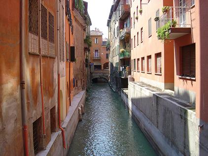 Bologna e le sue vie d 39 acqua - Bologna finestra sul canale ...